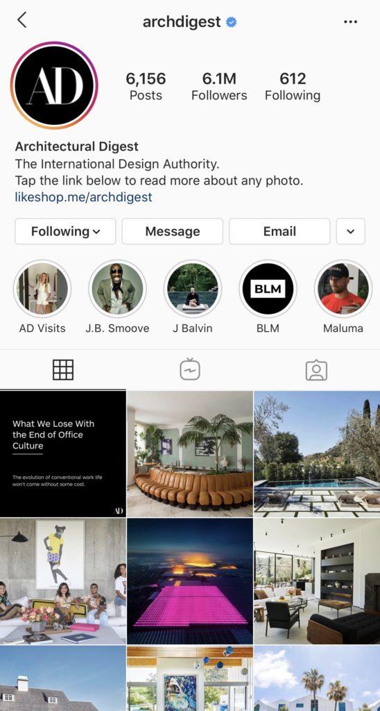 Wolf Global_Interior Design Instagram Accounts_ArchDigest