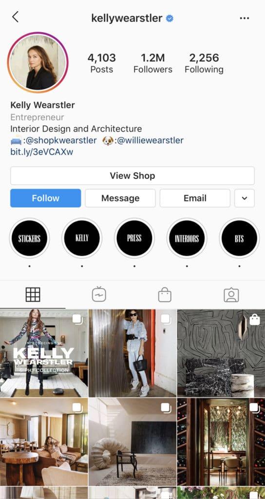 Wolf Global_Interior Design Instagram Accounts_KellyWearstler
